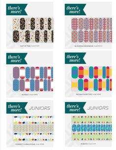 Wraps with more than one design?? What, what!? Yep, that's right!  Check them out at http://robinzygmont.jamberrynails.net