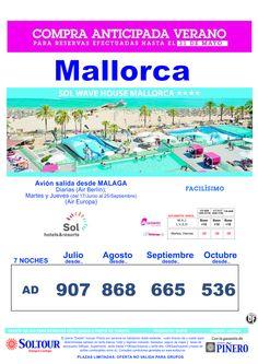 Mallorca: Oferta Hotel Sol Wave House salidas desde Málaga ultimo minuto - http://zocotours.com/mallorca-oferta-hotel-sol-wave-house-salidas-desde-malaga-ultimo-minuto/