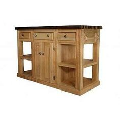 Butchers block idea - on wheels or nice carved feet would be nice
