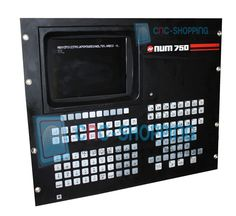 NUM 750 Monitors in Stock at CNC-Shopping e-store. CRT or LCD Models are always in stock for same day Shipping.