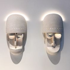 "1,300 mentions J'aime, 32 commentaires - Eric Roinestad (@erstudio) sur Instagram : ""Mask sconces on view at @designmiami with @thefutureperfect until Sunday! #ericroinestad…"""