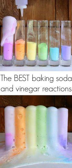 12 Magic Reaction for the Best Baking Soda and Vinegar