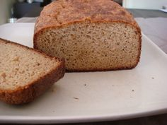 This healthy low carb bread tastes pretty close to the real thing as it has the texture of bread and toasts very well. The bread is gluten free too!