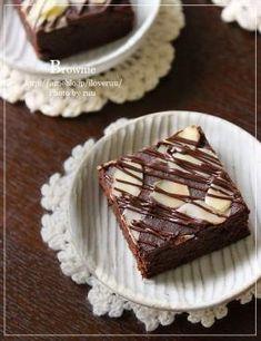 「チョコ好きさんに♪トリプルチョコのブラウニー」るぅ   お菓子・パンのレシピや作り方【corecle*コレクル】