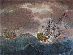 Hms victori 1744- recuperación engullido por el mar