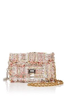 Frayed Tweed Extra Small Courier Bag by PROENZA SCHOULER Now Available on Moda Operandi