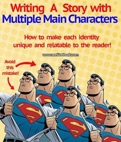 Writing a story with multiple main characters? Eager to learn how to create memorable diverse characters? Do not miss these three tips!  https://ift.tt/2HU06rE  https://ift.tt/2IQn147 #writing #publishing #reading #literature