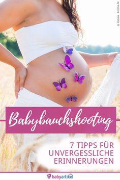 7 einfache Tipps, mit denen Dein Babybauchshooting unvergesslich wird