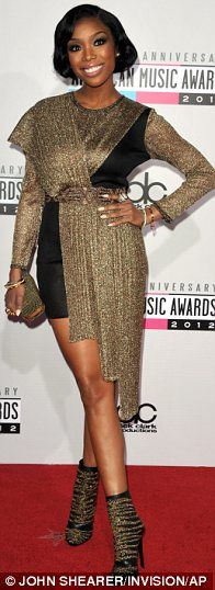 Worst Dressed of American Music Awards 2012 - #Brandy