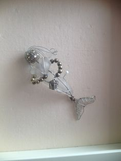 White Sea Glass Mermaid by CinnamonJasmine on Etsy