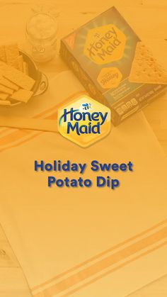 Make it a sweet Thanksgiving with this HONEY MAID Holiday Sweet Potato Dip. This tasty app is perfect for your loved ones, they'll absolutely love it.