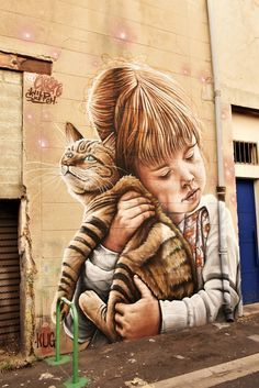 Murals Street Art, 3d Street Art, Street Art Graffiti, Seen Graffiti, Graffiti Cartoons, Graffiti Artwork, Graffiti Wallpaper, Graffiti Painting, Amazing Street Art
