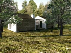 Módulos para turismo rural: Habitações translation missing: pt.style.habitações.minimalista por Grupo Norma
