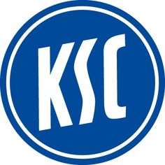Karlsruher SC of Germany crest. Karlsruher Sc, Hamburger Sv, German Football Clubs, European Football, Fc St Pauli, Badge, Germany Football, Football Team Logos, Derby County