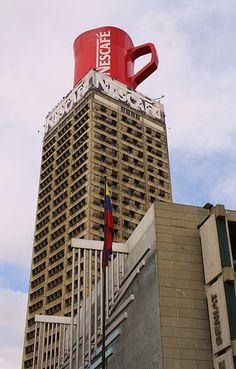 Caracas- Taza de Nescafé