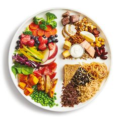 The New Canada Food Guide 2019 recommends whole-grains, plant-based proteins. A picture of a plate showing how you should eat # Nutrition pictures Canada's New Food Guide Is Here. Healthy Plate, Healthy Snacks, Healthy Recipes, Healthy Eating Guide, Vegan Plate, Healthy Eating For Kids, New Recipes, Whole Food Recipes, Drink Recipes
