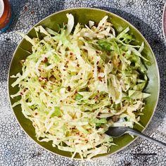 Best Coleslaw Recipe, Spicy Coleslaw, Coleslaw Recipes, Napa Cabbage Salad, Cabbage Slaw, Summer Slaw, Carrot Slaw, Paleo, Salads