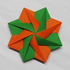Origami,  Modular Decoration by Sam.Amalan., Designer : Steve Daniels.