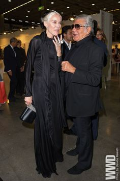 Daphne Guinness and Roberto Cavalli