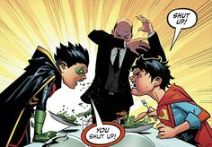 Super sons issue 5 Like an old married couple