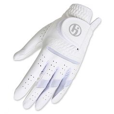 SPECIAL White HJ Gripper Micro-Fiber Ladies Golf Gloves, also in 17 Colors