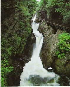 Post with 93 views. High Falls Gorge in Lake Placid, NY. Places In Usa, Places To Travel, Places To See, New York Vacation, Vacation Spots, High Falls Gorge, Lake Placid New York, New York Attractions, Lake George