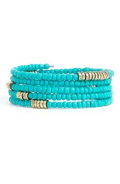 Steven & Co. Coil bracelet