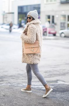 Outfit   How To Wear A Teddy Coat