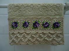 Lindo barrado de crochê... Valoriza qualquer peça com uma execução perfeita!