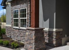 Mason's Choice - Cedar Ridge Stone Gallery, Manufactured Stone, Grand Entrance, Commercial Design, Firewood, Design Projects, Choices, Outdoor Decor, Mountain