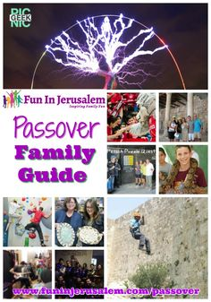 All the events and activities in Jerusalem this Passover www.funinjerusalem.com/pesach