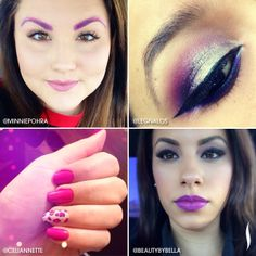 Radiant Orchid is blooming! We LOVE how our followers are working the Color of the Year. Keep tagging your looks #SephoraPantone! #Sephora