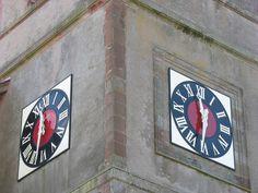 Cadran / horloge Bodet installé à Waldweistroff, France.