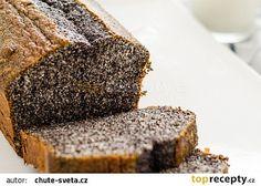 Makovec jako od babičky recept - TopRecepty.cz Desert Recipes, Nutella, Banana Bread, Food And Drink, Smoothie, Sweet, Ursula, Poppy, Kitchens