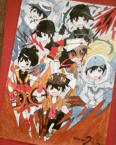 Anime Galaxy, Boboiboy Galaxy, Boboiboy Anime, My Childhood Friend, I Love Him, My Idol, Ali, Fanart, Digital Art