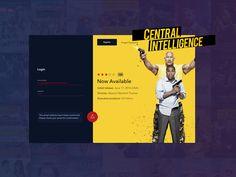 Movie Service Login Page
