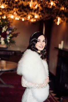 Winter Wedding Fur, Winter Wonderland Wedding, Fall Wedding, Winter Bridesmaids, Brides And Bridesmaids, Vintage Fur, Vintage Bridal, Great Gatsby Wedding, Dream Wedding