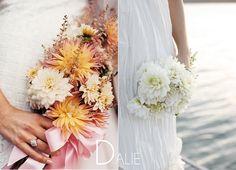 Bouquet sposa Dalie