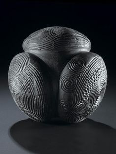 Ancient & Medieval History — Celtic Carved Stone Ball, BC This carved. Ancient Aliens, Ancient History, European History, American History, Vikings, Art Ancien, Art Premier, Art Sculpture, Stone Sculpture