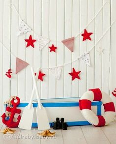 Sailor Party, Sailor Theme, 1st Birthday Photoshoot, Nautical Party, Digital Backdrops, Photography Backdrops, Holidays And Events, Birthday Decorations, Photo Studio