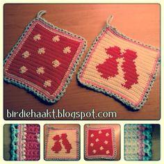 29 Beste Afbeeldingen Van Pannenlappen Crochet Potholders Crochet