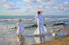 El Mundo de Maria Antony: Las pinturas realistas del estilo impresionista Alexander Averin (Rusia)