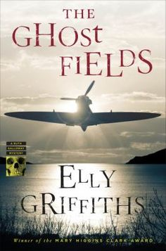 """The Ghost Fields by Elly Griffiths  """"Griffiths has written another strong entry in her excellent Ruth Galloway series. Here, Ruth is called in when a World War II plane is excavated, complete with pilot–but the pilot is in the wrong plane. Strong characters combine with an absorbing puzzle to create a hard-to-put-down mystery.""""  Beth Mills, New Rochelle Public Library, New Rochelle, NY"""