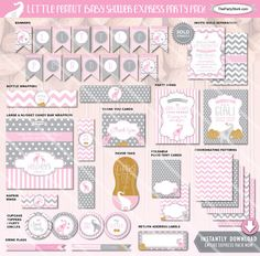 Image result for pink elephant themed party