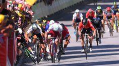 2017 Tour de France Peter Sagan disqualified #FansnStars