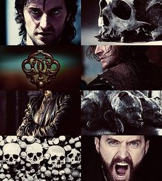 """Richard Armitage as Hades, god of the Underworld.  """"No one can hurry me down to Hades before my time, but if a mans hour is come, be he brave or be he coward, there is no escape for him when he has once been born."""""""