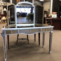 Mid century modern desk drawer roller set Anderson Hickey