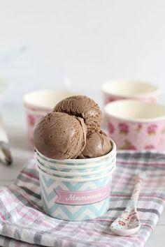 Receta helado de chocolate super cremoso