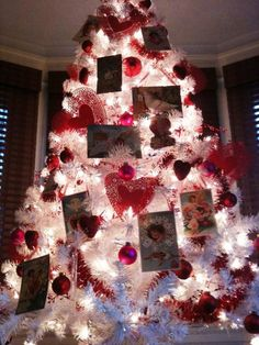 73 Best Valentine S Day Tree S Images Christmas Tree Holiday Tree