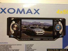 XOMAX XM DTSB4306 RADIO, DVD, CD, MP4, Bluetooth, USB, RDS 4 x 60